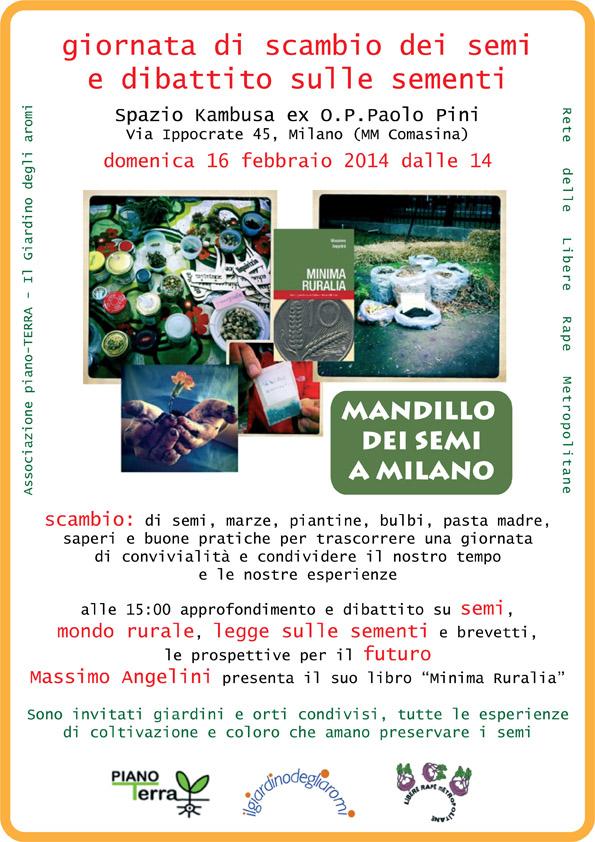Mandillo dei semi 16/02/2014