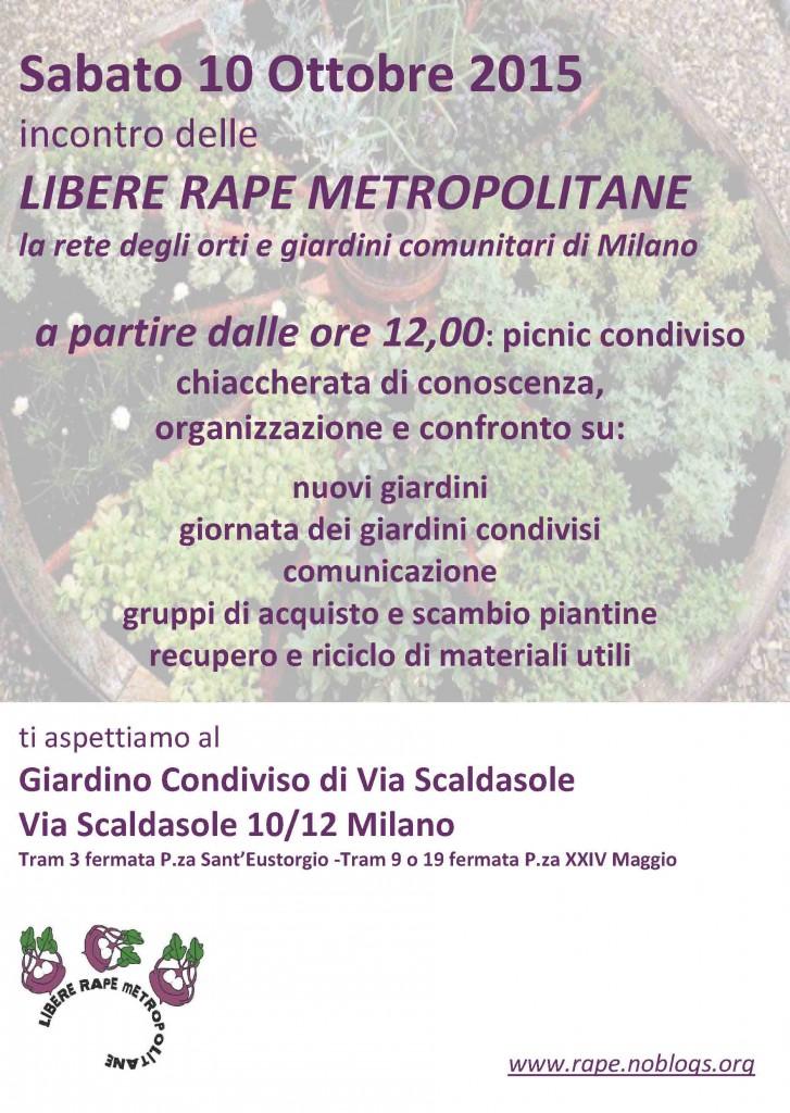 Volantino incontro Rape 10ott2015